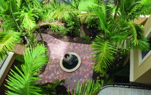 Side Yard Water Feature