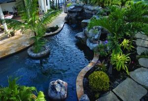 overhead lagoon pool