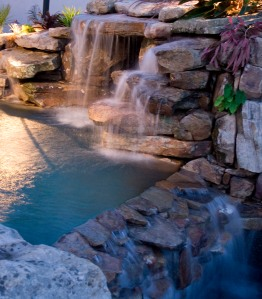 Natural Rock for Waterfalls